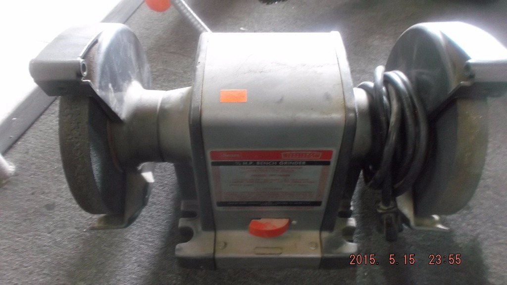 Sears 1 2 Hp Bench Grinder Pawn Stocker