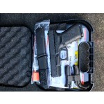 Glock 19 gen 4 , 3 magazines gun lock and extra grips. I have original glock case