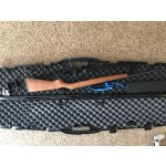 Ruger 10/22 LR, Carrying case with lock