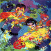 Ali Foreman Zaire serigraph by Leroy Neiman