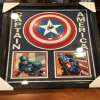 Stan Lee Autographed/Signed Captain America Marvel Shield