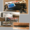 PS3 Super Slim 500gb Console, 4 controllers, 15 games