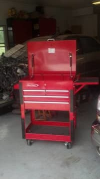 snap on tool 4 draw compact Roll cart , Brand new snap on 4 draw tool box roller for sale, Like new