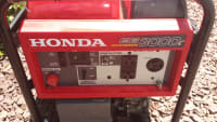 honda eb3000c portable generator, honda eb3000c portable generator. Used only three times during power outage and starts right up on the first pull. like new, Like new