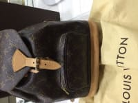 Louis Vuitton backpack, Louis Vuitton backpack. Rarely used. No scuffs or tears. Excellent condition