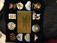 1988 olympic pin set, Antique, Collectible, 1988 olympic 10-pin set