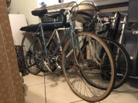 Peugeot bicycle, Vintage Peugeot bicycle! Original simplex components, original rigida rims and other (made in France) parts. Tires hold air and shifters/ brakes/ deuraillers function.