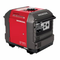 3,000-Watt Gasoline Powered Electric Start Inverter generator, Honda's Advanced Inverter technology provides 3,000-Watts of extremely quiet and fuel-efficient power.It can operate a wide variety of appliances, making it perfect for use at home or camping. Exceptionally efficient, it can run 7.2 to 20 hours on a single tankful of gasoline, depending on the load. It is also an excellent source of power for RVs (including 13,500 BTU AC units) or a basic home backup power source.