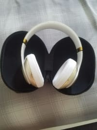 Beats by dre gold headphones, Beats by dre, 201y, Has a little scratch on it but great condition