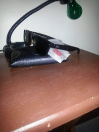 Polarized Ray Ban Sunglasses, RayBan Polarized Sunglasses. Brown Tortoise shell design on the frame with polarized lenses. Barely used, comes with black leather sunglass case and cleaning cloth.