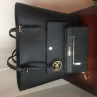Michael Kors purse , Michael Kors purse, 2 months old , brand new , black leather , with wallet