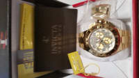 Invicta Reserve 50 MM Excursion z60 Swiss Mens Goldtone Watch, Invicta Item #626-147, I purchased the Invicta Reserve 04/21/2014.