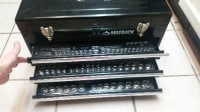 Husky Tool Box, Husky Metal Tool Box 200 peices included