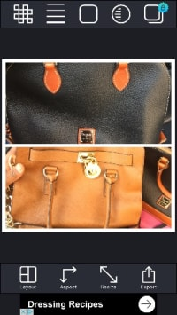 one dooney and bourke satchel and a Micheal kors handbag , These bags are a couple months old still new