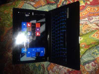 """Next book tablet and charger , nextbook, nxw116qc264, 12"""" screen still has screen protector, keyboard, charger."""