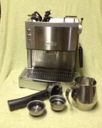 DeLonghi Espresso Machine EC702, DeLonghi Espresso Machine EC702 in excellent condition with manual