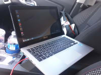 asus touchscreen laptop, Asus q200e, Like new