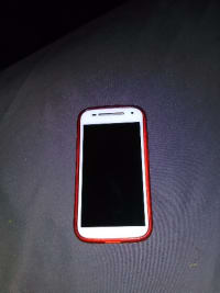Used cellphone, Motorola, 2015, I have a Motorola cellphone that's still fairly new in great shape. No , Boost mobile