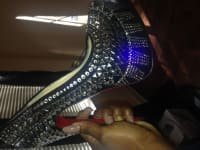 Red bottoms, Christian louboution shoes size 7