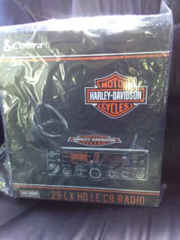 Cobra Harley Davidson CB radio, 29 lx hd le, 2014, Brand new never taken out the box.