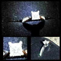 Princess Cut 1 carat Diamond For Sale, 1ct Brilliant Princess Cut Diamond For Sale