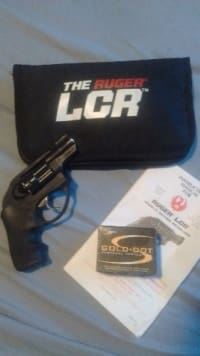.38 Ruger LCR Double Action Revolver w/ 20 cartridges , Ruger LCR, 20 cartridges