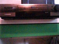 vcr, Samsung,model#VR8905, 1999-2000, Fair condition,and working.