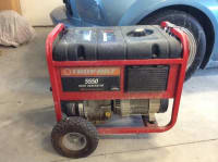 Troy Built 5500 Gas Generator , 5500 Gas Generator Great Shape, Gently used