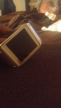 Galaxy gear watch, Black Samsung galaxy watch, Like new