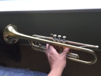 F.schmidt h300l Trumpet, Musical Instruments, Equipment, F.schmidt h300l Trumpet it's not new but not in bad conditions either. I bought I originally got 1000 and used for less than a year