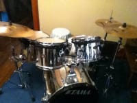 TAMA Rockstar Drum Set Everything In Photo Is Included Great Beginner Or Practice