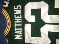 Autographed clay Matthews Jersey, Clay Matthews packers autographed Jersey