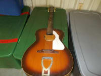 1960's EKO Ranger 12-string guitar, This ad is for a stunning 1960's EKO Ranger/Ranchero 12 string guitar from Italy-----it currently is strung with 6 strings....the bridge is straight and in great condition, Gently used
