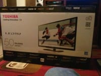 """50"""" toshiba led tv 6 months old, Up for sale almost brand new 50"""" toshiba led tv there's nothing wrong with it like I say almost brand new perfect condition , Like new"""