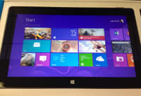 Windows rt 64 gig tablet with cord, 64gb rt, Like new