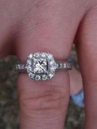 054828c1f Sell or buy a used Neil Lane Engagement ring and wedding band