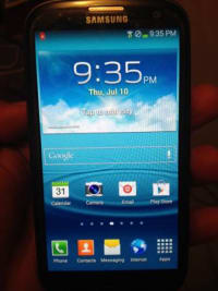 GALAXY S3 UNLOCKED , Galaxy s3 unlocked for any gsm carrier att,t-mobile simple mobile red pocket and verizon, Like new
