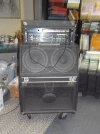 Rare Bass Amp Combo, An Ampeg SVT-50 Pro Isovent bass cabinet and a Hartke HA 7000 bass amp head, Like new