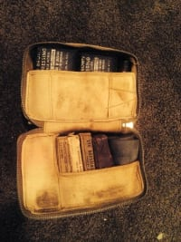 Civil war medical kit, ,
