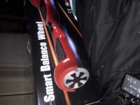 Hoover board , Self balancing electric schooter, 2016, Brand new only ride once still inside of box