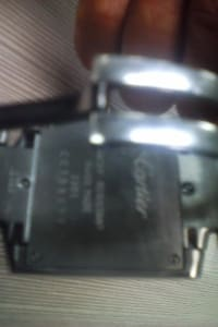 Cartier Watch, Cartier 2301 , No box no papers...and I believe it  needs a battery.