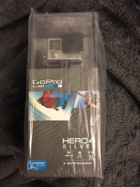GoPro Hero 4 Silver, GoPro Hero 4 Silver, 2016, New, still in box! All accessories included still in the box! Never been open or used.