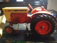 Original toy Case tractor. A 930 Comfort King, This toy collectable is in excellent condition for the antique toy collectors.