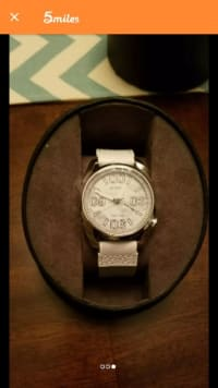 Men's citizen watch, Citizen, Brand new still has tags and original box. It's white and grey.
