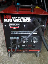 century 145 amp welder mint , 220 volt mig welder for sale, Gently used