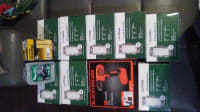 3 pk Lutron dimmer , I have 8 three pack lutron dimmer switches (brand new in box) and a black+decker wireless drill. The value is $80 each for the dimmers.