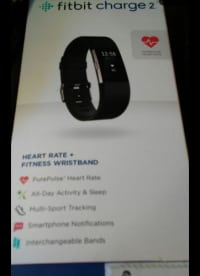 Fitbit charge 2, Fitbit charge 2, 2016, Charger included