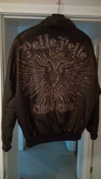 Brand new leather pelle pelle, Leather pelle pelle coat and maury's shoes all brand new