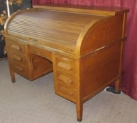 Roll top desk, Roll top desk from oxford clothing company