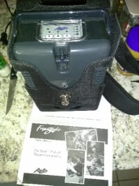 Portable oxygen concentrator, Oxygen concentrator freestyle airsep portable
